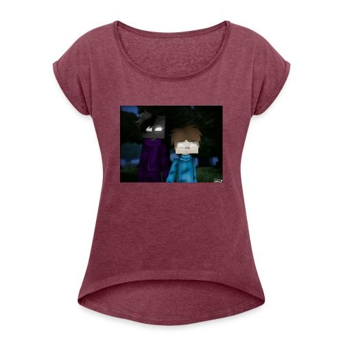 Jordan Gaming - Frauen T-Shirt mit gerollten Ärmeln
