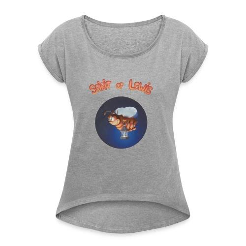 Spirit of Lewis - T-shirt à manches retroussées Femme