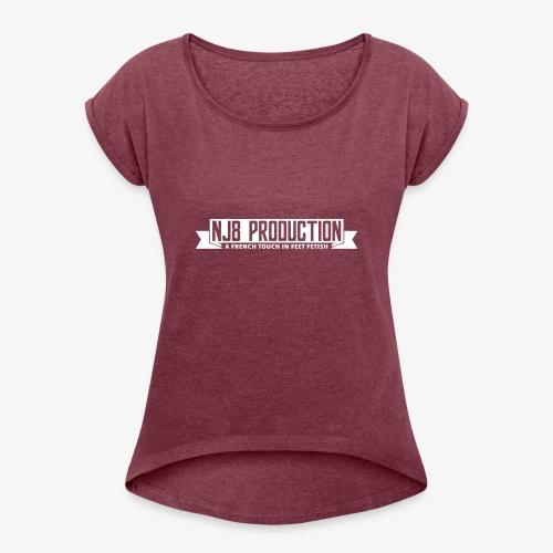 NJ8 Prod - T-shirt à manches retroussées Femme