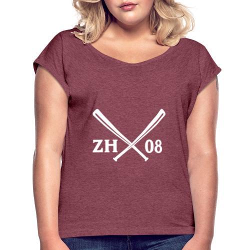 Eighters ZH08 - Frauen T-Shirt mit gerollten Ärmeln