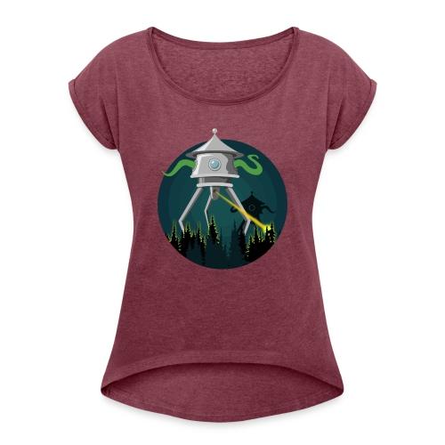 La guerra dei mondi - H. G. Wells - Maglietta da donna con risvolti