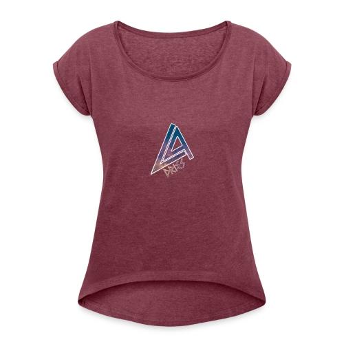 La Dries - Vrouwen T-shirt met opgerolde mouwen