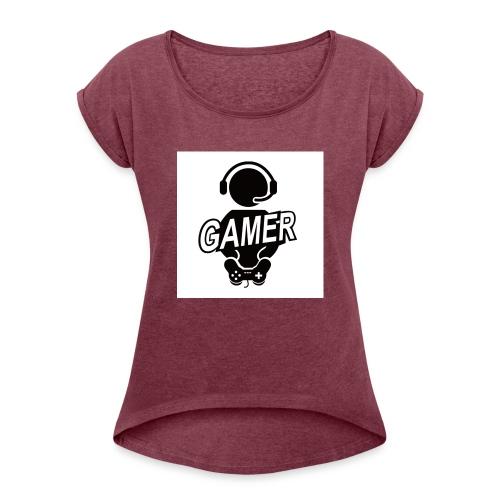 Thesupremis gifts - Frauen T-Shirt mit gerollten Ärmeln