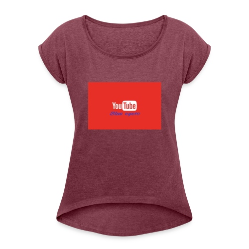 1478968410010 - Women's T-Shirt with rolled up sleeves