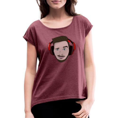hEATZ Schnute - Frauen T-Shirt mit gerollten Ärmeln