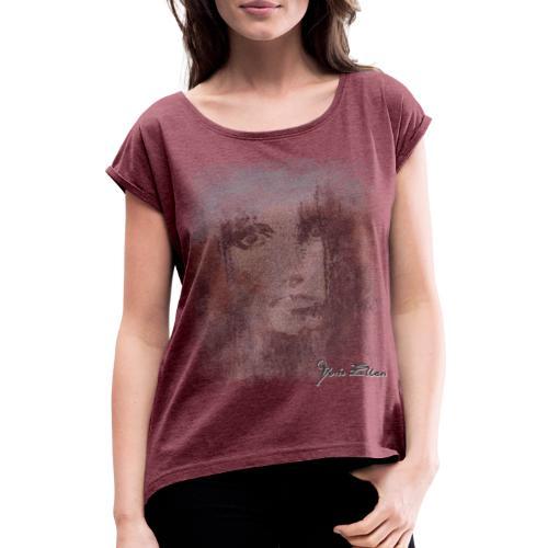 Dreaming - Frauen T-Shirt mit gerollten Ärmeln