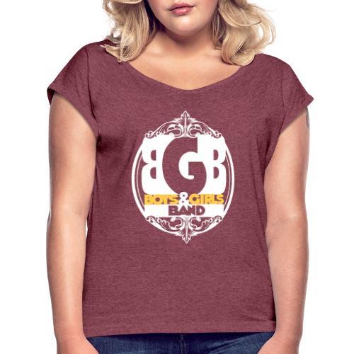 bgbtshi2 - T-shirt à manches retroussées Femme