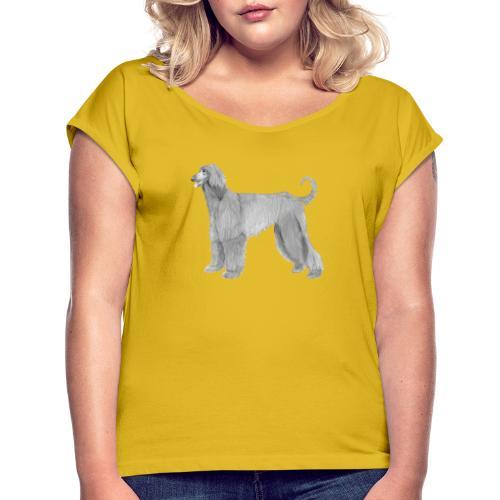 afghanskMynde - Dame T-shirt med rulleærmer