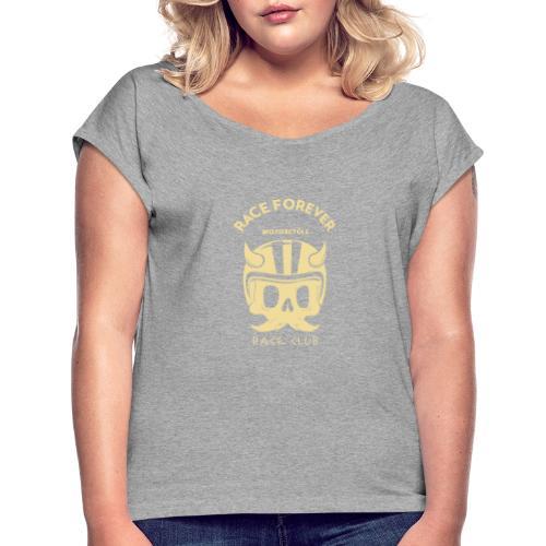 bikers racing club t shirt design template featuri - Dame T-shirt med rulleærmer