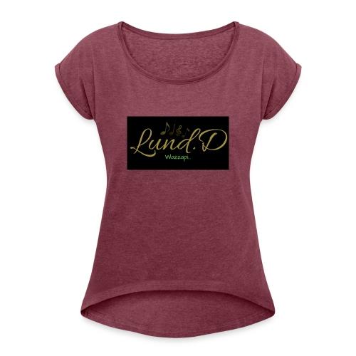 Lund.D Wazzapi Merch - Dame T-shirt med rulleærmer