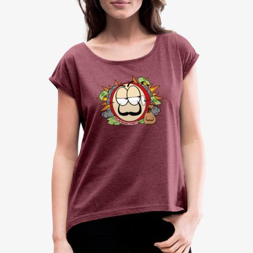 Daly BB - T-shirt à manches retroussées Femme