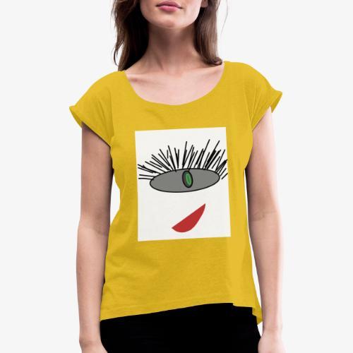 yoyo - Maglietta da donna con risvolti
