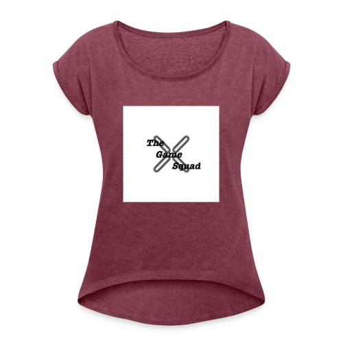 Hitmarker shirt - Vrouwen T-shirt met opgerolde mouwen