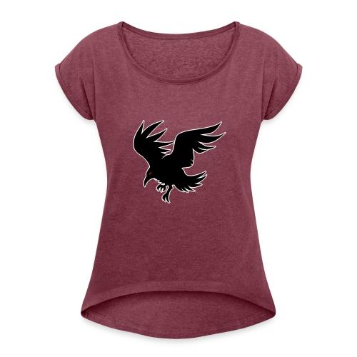 Karasu - Women's T-Shirt with rolled up sleeves