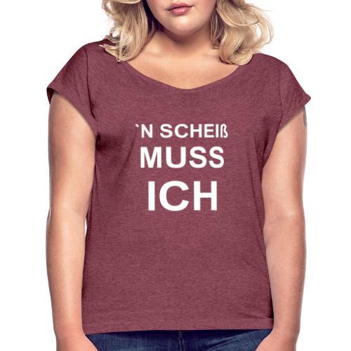 1001 we - Frauen T-Shirt mit gerollten Ärmeln