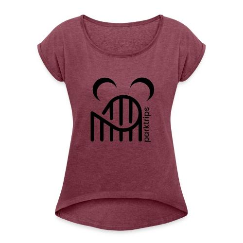 Lunips - T-shirt à manches retroussées Femme