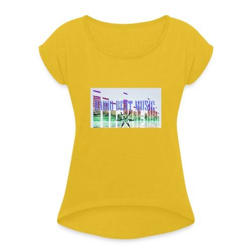 RBM - Maglietta da donna con risvolti