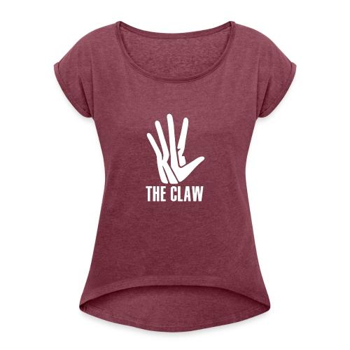Kawhi Leonard - Naisten T-paita, jossa rullatut hihat