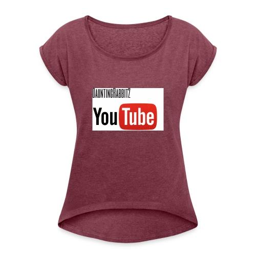 DauntingRabbit2 - T-shirt med upprullade ärmar dam