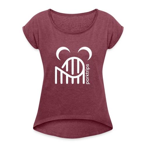 Luniwhips - T-shirt à manches retroussées Femme