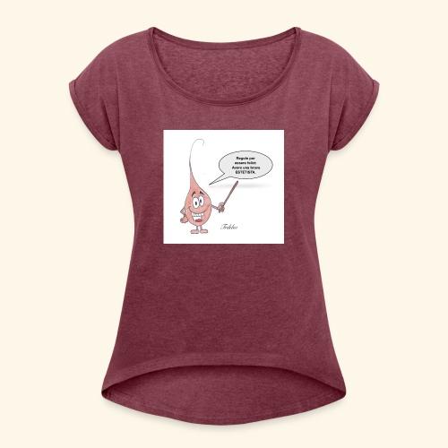 Estetica - Maglietta da donna con risvolti