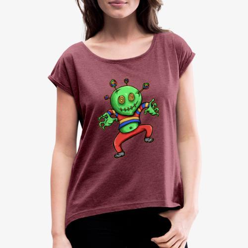 Candy Boy - T-shirt à manches retroussées Femme