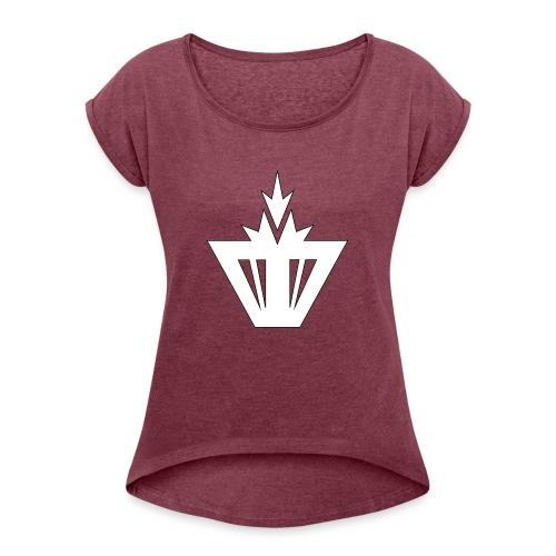 Moio Squad Design 4 - Frauen T-Shirt mit gerollten Ärmeln