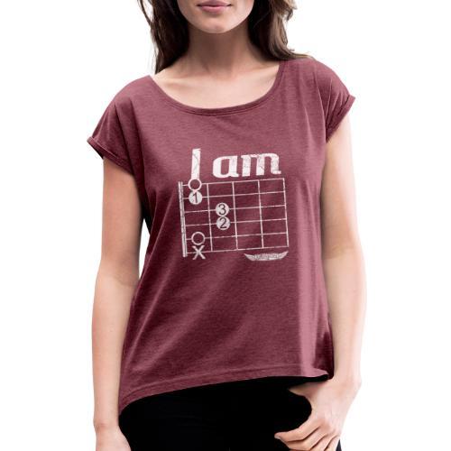 A moll light - Frauen T-Shirt mit gerollten Ärmeln