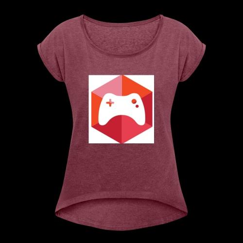 bro timo - Vrouwen T-shirt met opgerolde mouwen