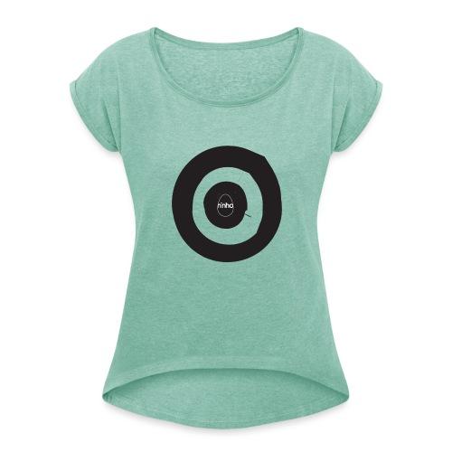 Ninho Target - Maglietta da donna con risvolti