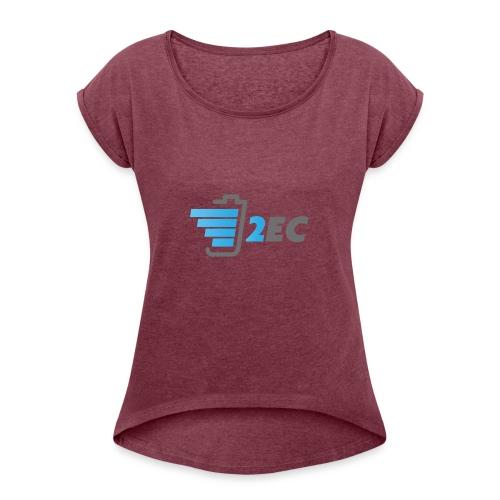 2EC Kollektion 2016 - Frauen T-Shirt mit gerollten Ärmeln