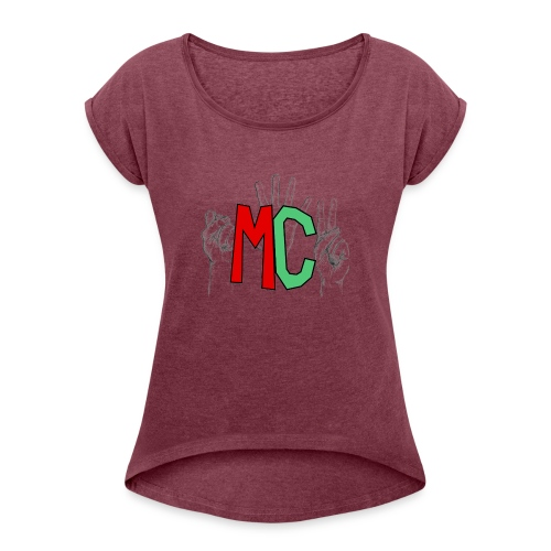 Logo vuoto iMorracinese - Maglietta da donna con risvolti