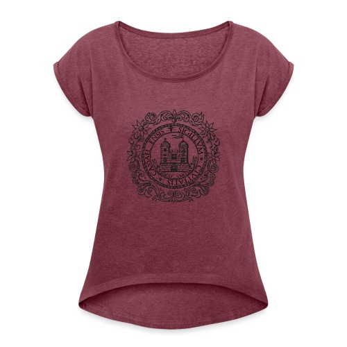 Cashel Of The Kings - Women's T-Shirt with rolled up sleeves