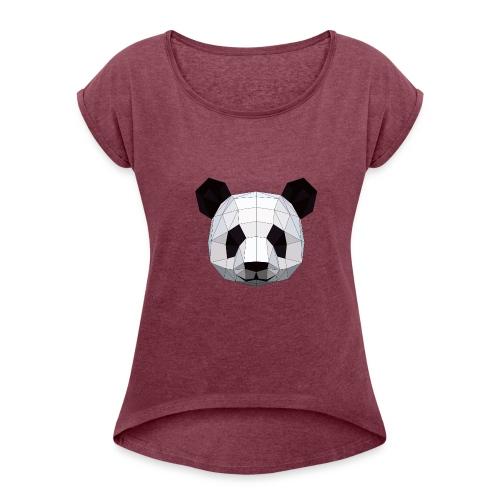 PANDA - T-shirt à manches retroussées Femme