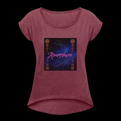 Atmosphere - Frauen T-Shirt mit gerollten Ärmeln