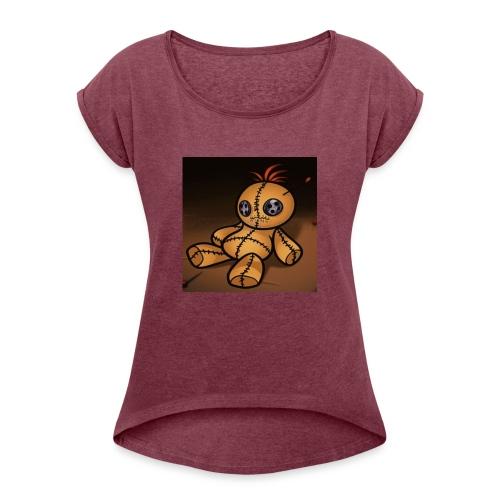 vodooo - Frauen T-Shirt mit gerollten Ärmeln