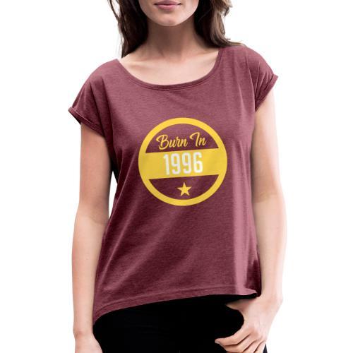 BIRTH DESIGN 1996 - Camiseta con manga enrollada mujer