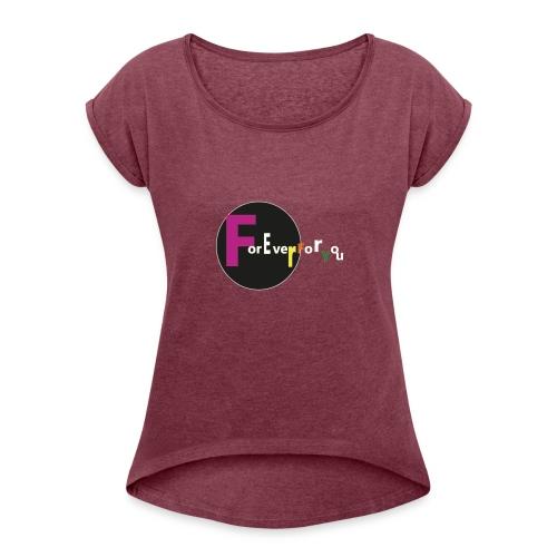maglia - Maglietta da donna con risvolti