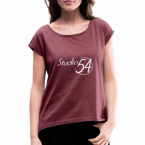 Studio 54 - Frauen T-Shirt mit gerollten Ärmeln