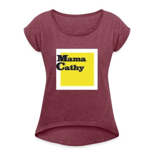 Mama Cathy - T-shirt à manches retroussées Femme