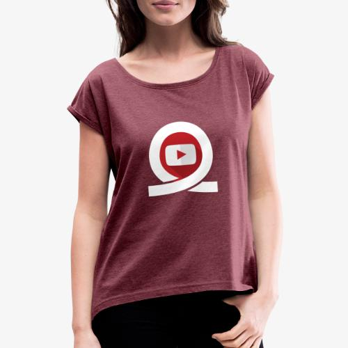 World Of Coasters Loop - Women's T-Shirt with rolled up sleeves