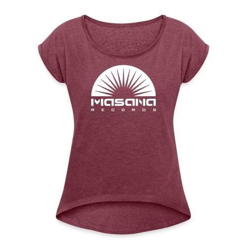Masana Records - Dame T-shirt med rulleærmer