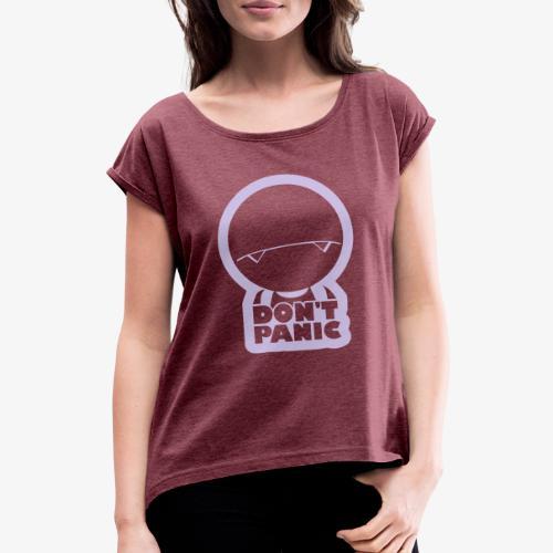 Dont'Panic Marvin - T-shirt à manches retroussées Femme
