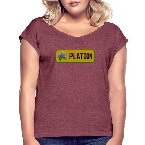 Peloton - T-shirt à manches retroussées Femme