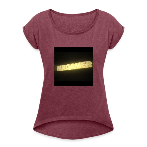 hd - Women's T-Shirt with rolled up sleeves