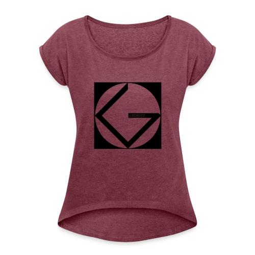 Logo Gedrizz - Maglietta da donna con risvolti