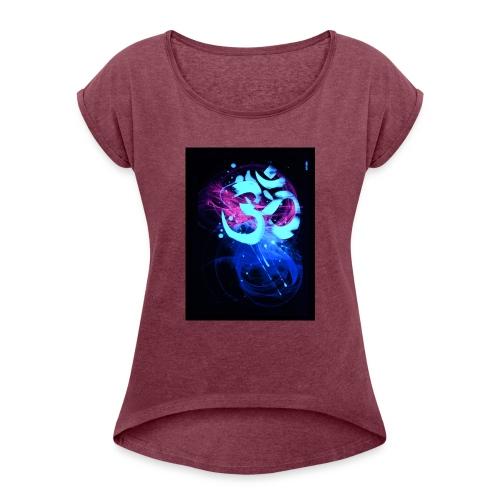 goa - Frauen T-Shirt mit gerollten Ärmeln