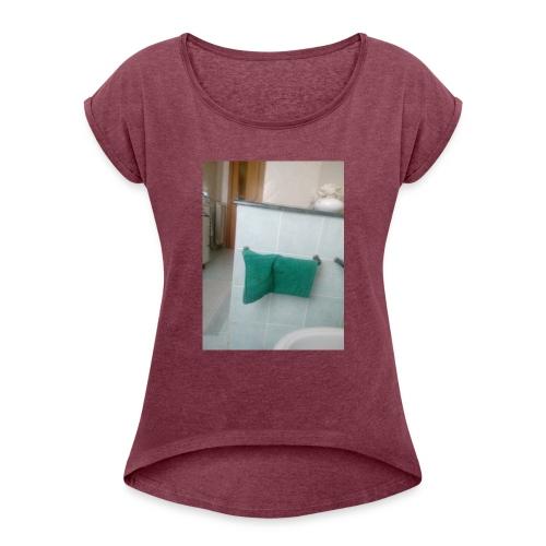 Panno yt - Maglietta da donna con risvolti