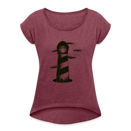 faro shirt - Maglietta da donna con risvolti