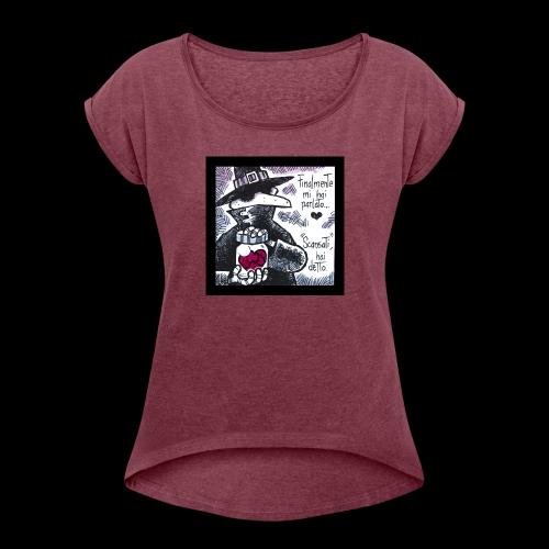 TronoVacante Cerusico 2 - Maglietta da donna con risvolti